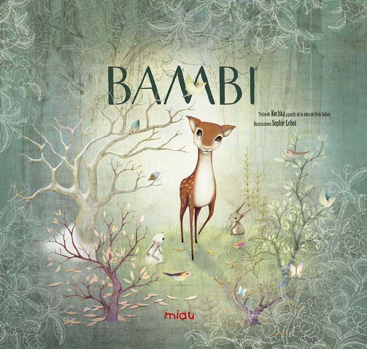 Resultado de imagen de bambi con miau